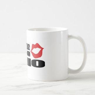 Kiss me I am from Ohio Mugs
