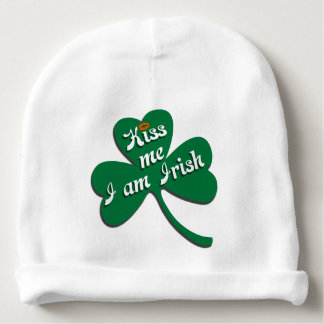 Kiss me I am Irish Baby Beanie