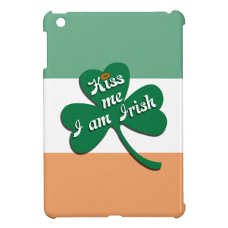 Kiss me I am Irish Cover For The iPad Mini