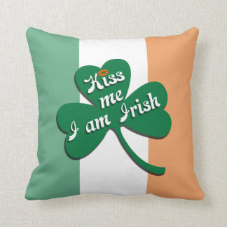 Kiss me I am Irish Cushion