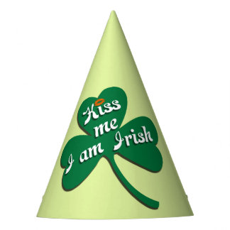 Kiss me I am Irish Party Hat