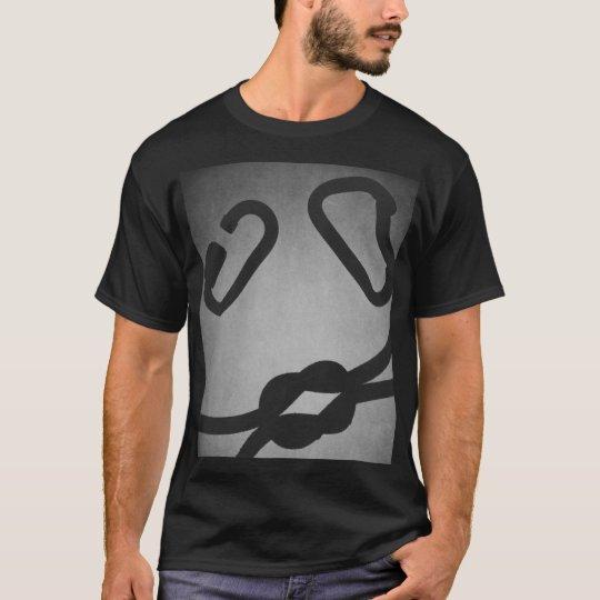 Kiss me, I climb. T-Shirt