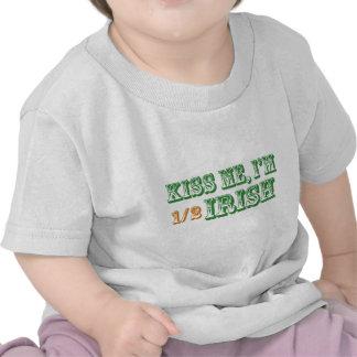 Kiss Me I m Half Irish Shirts