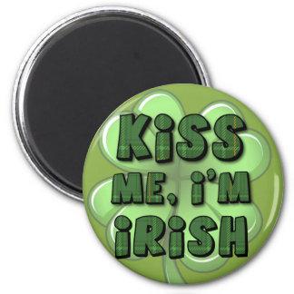 Kiss Me I m Irish 2 Magnet