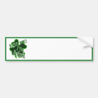 Kiss Me, I'm Irish! Bumper Sticker