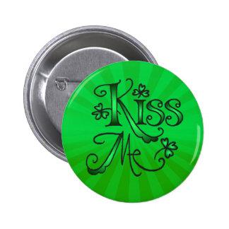 KISS ME I M IRISH by SHARON SHARPE Pin