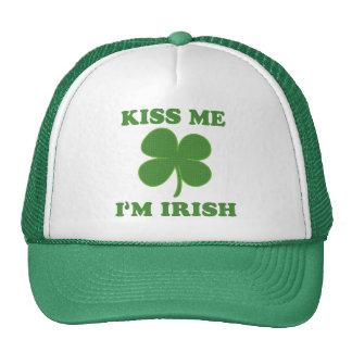 Kiss me i m Irish Mesh Hat