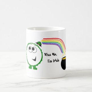 Kiss Me I m Irish Weeble Mug