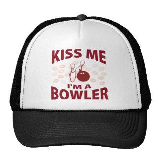 Kiss Me I'm A Bowler Cap