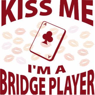 Kiss Me I'm A Bridge Player Photo Cut Out