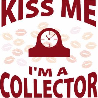Kiss Me I'm A Collector Photo Sculpture