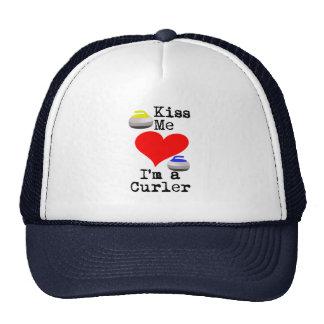 Kiss me I'm a Curler Cap