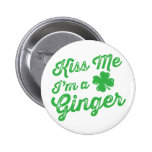 Kiss Me I'm a Ginger! 6 Cm Round Badge