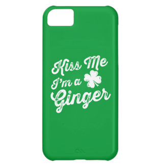 Kiss Me I'm A Ginger! iPhone 5C Case