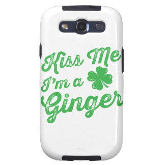 Kiss Me I'm a Ginger! Samsung Galaxy S3 Cases