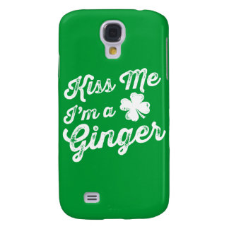 Kiss Me I'm A Ginger! Galaxy S4 Case