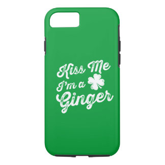 Kiss Me I'm A Ginger! iPhone 7 Case