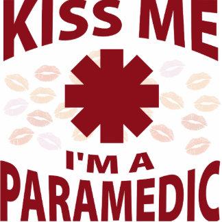 Kiss Me I'm A Paramedic Acrylic Cut Outs