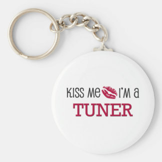 Kiss Me I'm a TUNER Keychain