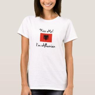 Kiss Me! I'm Albanian T-Shirt