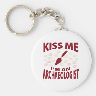 Kiss Me I'm An Archaeologist Key Ring