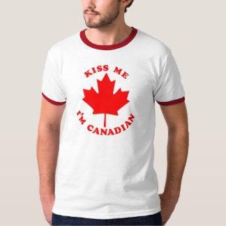 Kiss Me Im Canadian T-Shirt