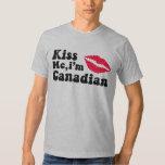 Kiss me I'm Canadian T Shirt