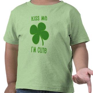 Kiss Me I'm Cute Tshirt