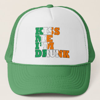 Kiss Me I'm Drunk Trucker Hat