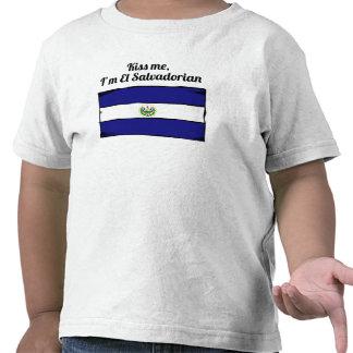 Kiss Me I'm El Salvadorian Tshirts