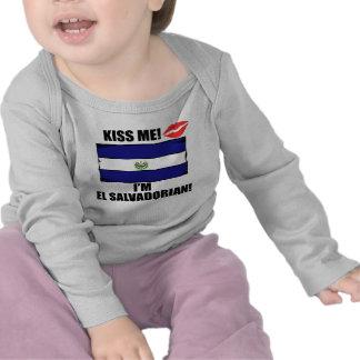 Kiss Me I'm El Salvadorian T Shirts