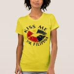 Kiss Me I'm Filipina Shirt
