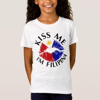 Kiss Me I'm Filipina T-Shirt