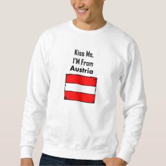 Kiss Me, I'M From Austria Sweatshirt