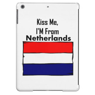 Kiss Me, I'M From Netherlands Cover For iPad Air