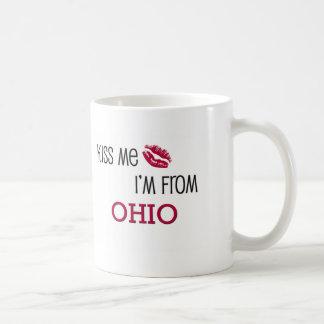 Kiss Me I'm From OHIO Basic White Mug