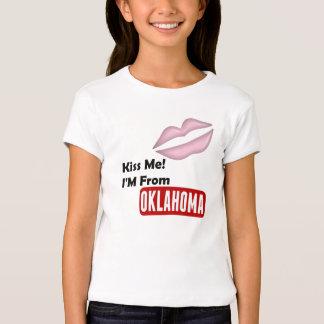 Kiss Me, I'M From Oklahoma Tshirt