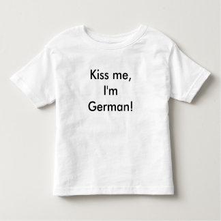 Kiss me, I'm German! Toddler T-Shirt
