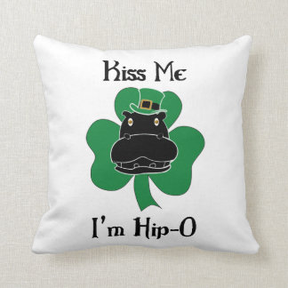 Kiss Me I'm Hip-O Cushion