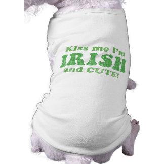 Kiss Me I'm Irish and Cute! Shirt