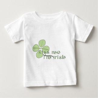 Kiss Me I'm Irish Baby T-Shirt