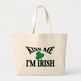 Kiss Me I'm Irish Bags