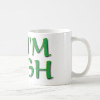 Kiss Me Im Irish Basic White Mug
