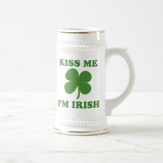 Kiss me i'm Irish Beer Steins