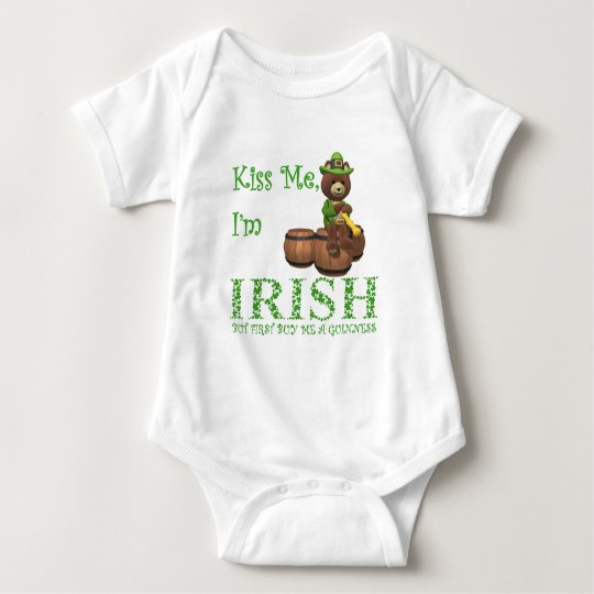 Kiss Me I'm Irish, but First Buy Me