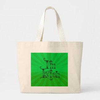 KISS ME I'M IRISH by SHARON SHARPE Tote Bags
