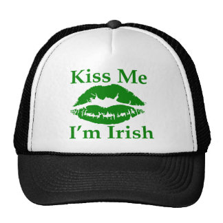 Kiss me I'm Irish Cap