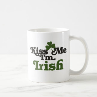 Kiss me Im Irish Coffee Mug