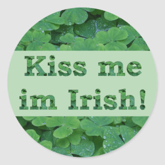 Kiss me im Irish Collection Stickers