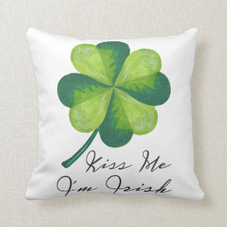 Kiss Me I'm Irish Cushion